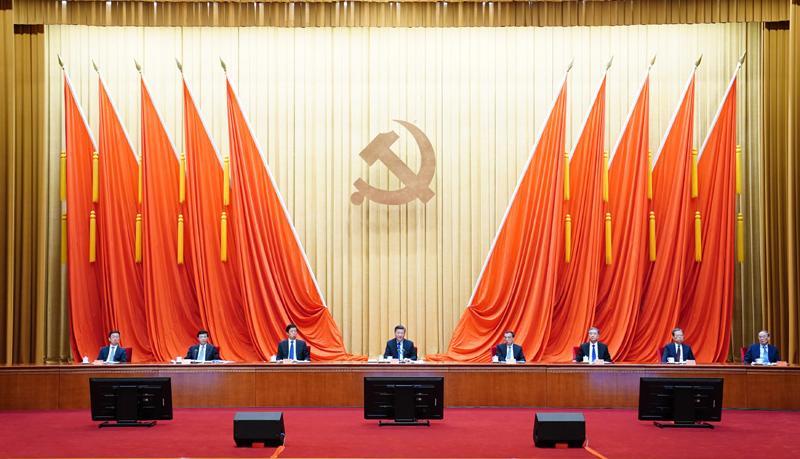 2月20日,党史学习教育动员大会在北京召开。中共中央总书记、国家主席、中央军委主席习近平出席会议并发表重要讲话。.jpg
