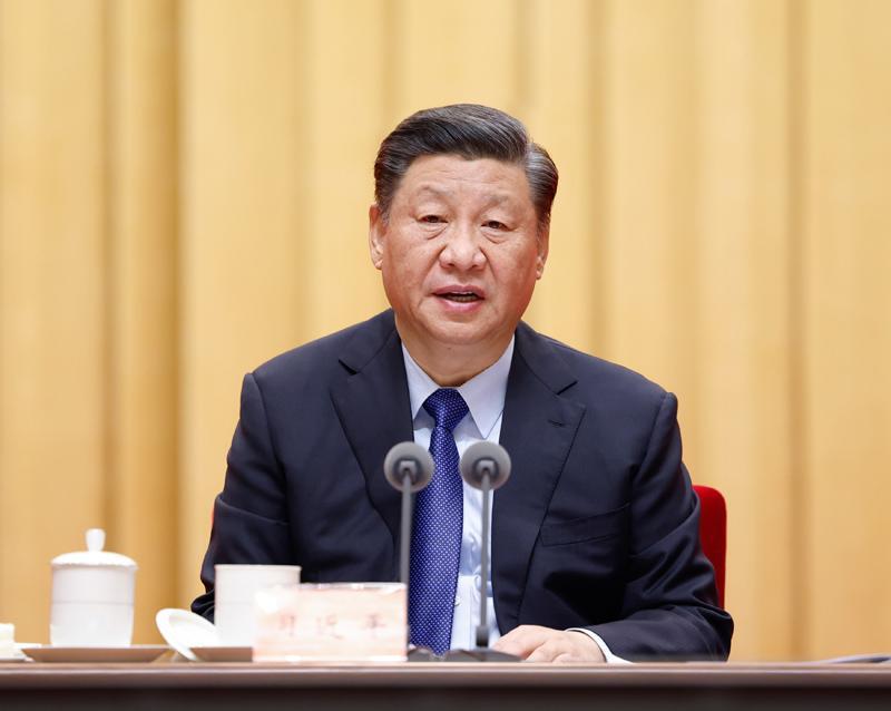 2月20日,党史学习教育动员大会在北京召开。中共中央总书记、国家主席、中央军委主席习近平出席会议并发表重要讲话1.jpg